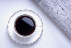 Café de matin Photos libres de droits