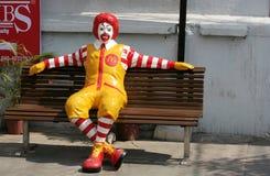 Café de McDonald Imagen de archivo libre de regalías