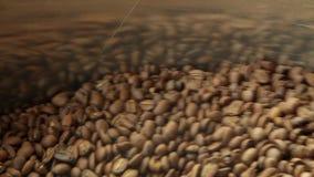 Café de mistura durante refrigerar video estoque