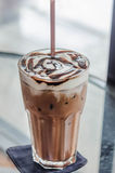 Café de mocca de glace Photos libres de droits