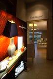 Café de musée de porcelaine de Meissen Images stock