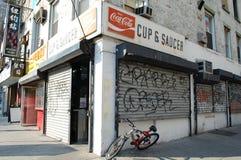 Café de New York photographie stock libre de droits