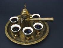 Café de Oriente Medio Imagenes de archivo