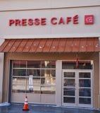 Café de Presse Image libre de droits