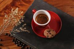 Café de refroidissement de temps Photographie stock libre de droits