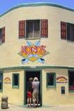 Café de ressac de Konos Images libres de droits