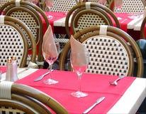 Café de rue Photographie stock