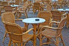 Café de rue Photo stock