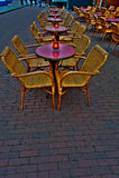 Café de rue Photos stock