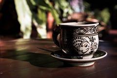 Café de tasse de vintage Photos stock