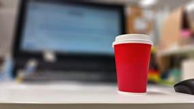 Café de trabajo Fotos de archivo