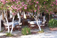 Café de trottoir Photographie stock
