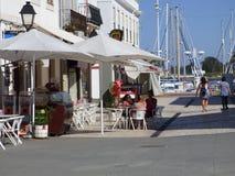 Café de trottoir Photos libres de droits