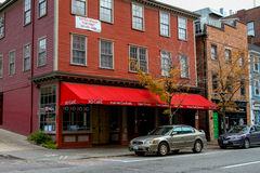 Café de XO, providência, RI Fotografia de Stock Royalty Free