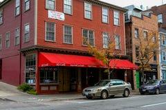 Café de XO, Providence, RI Photographie stock libre de droits