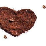 Café del amor Fotos de archivo