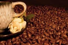 Café del amor Fotos de archivo libres de regalías