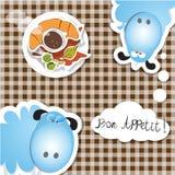 Café del appetit del Bon Fotografía de archivo libre de regalías