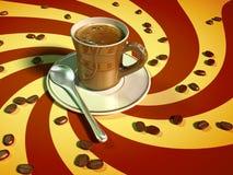 Café del café express ilustración del vector