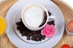 Café del desayuno Fotografía de archivo libre de regalías