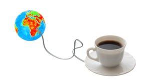 Café del Internet. imagenes de archivo