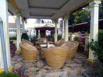 Café del jardín imagenes de archivo