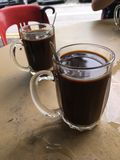 Café del kopi de la tradición Fotografía de archivo