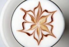 Café del latte de Barista Fotografía de archivo