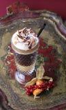 Café del licor con crema azotada imagen de archivo libre de regalías