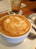 Café del macheto del caramelo Imagen de archivo libre de regalías