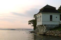 Café del océano Foto de archivo libre de regalías