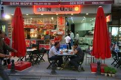 Café del pavimento Imagen de archivo