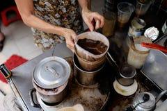 Café del ` s de Vietnam fotos de archivo libres de regalías
