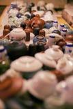 Café del sitio del té Imagen de archivo