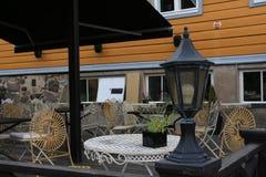Café del verano Fotografía de archivo