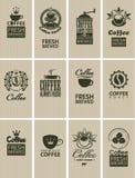 Café del vintage ilustración del vector