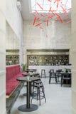 Café in der Dachbodenart Stockbild