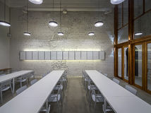 Café in der Dachbodenart Stockbilder