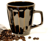 Café derramado imagem de stock royalty free