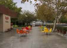 Café después de la lluvia Fotografía de archivo libre de regalías