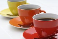 Café diagonal. Fotografia de Stock Royalty Free