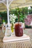 Café do americano do gelo Fotografia de Stock Royalty Free