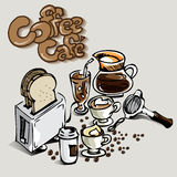Café do café Foto de Stock
