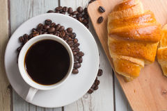 Café do café da manhã Fotos de Stock