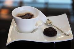 Café do Cappuccino Fotografia de Stock Royalty Free
