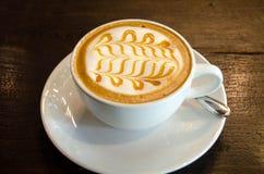 Café do copo hoje Fotografia de Stock