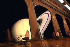 Café do cosmos Imagens de Stock