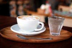Café do latte da arte fotos de stock royalty free