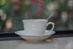 café do latte no fundo Foto de Stock Royalty Free