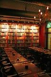 Café do livro foto de stock